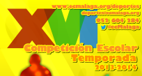 Finalización XVI Competición Escolar