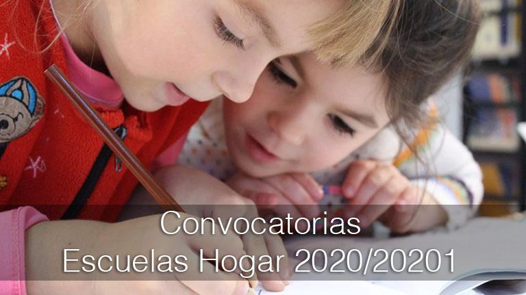 Lee más sobre el artículo Convocatoria de plazas de residencias escolares y escuelas-hogar para el curso escolar 2020/21