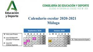 Lee más sobre el artículo Ya conocemos el Calendario Escolar del próximo Curso 2020/2021 en Málaga