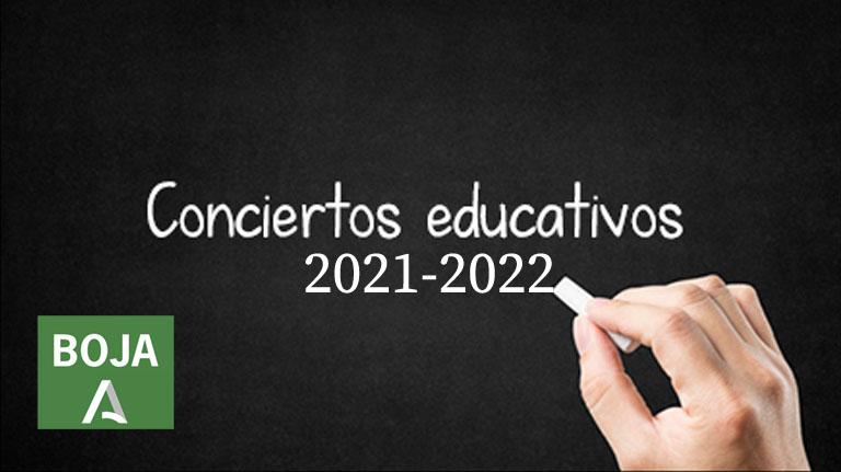 Lee más sobre el artículo Resolución Conciertos Educativos 2021/2022